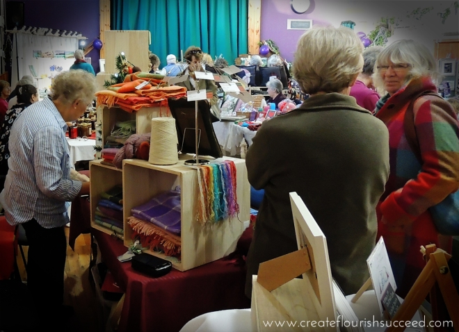 Use Craft Fairs to chat to customers and get valuable feedback for your business.