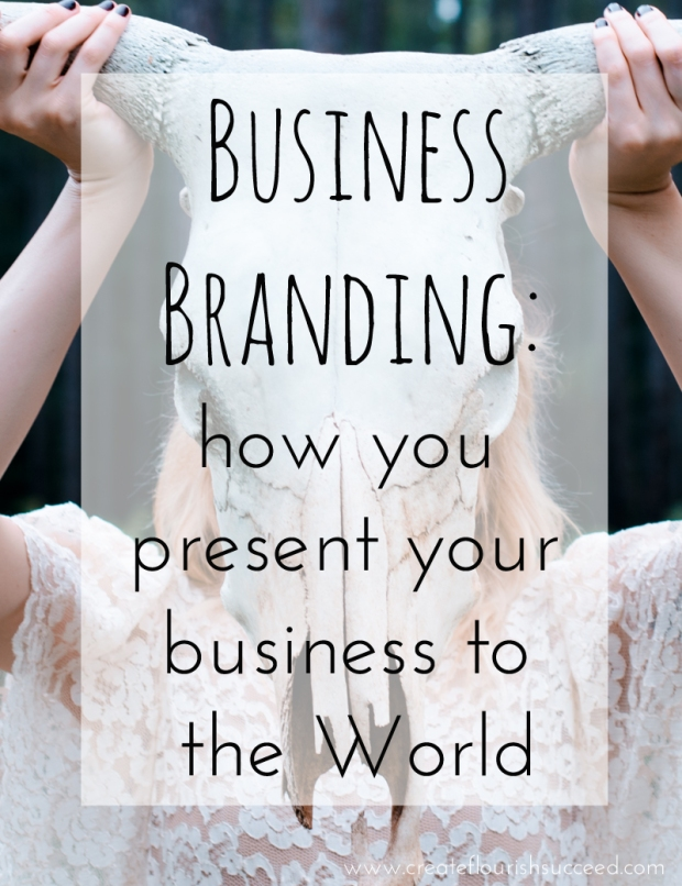Handmade business branding advice. Your business branding is not just your logo. It's how you present your business to the public